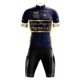 Conjunto Bermuda e Camisa Befast Senna Azul