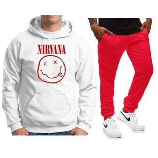 Conjunto Blusa Calça de Agasalho Moletom Unissex Nirvana NS-H-CEUML-CJ-25