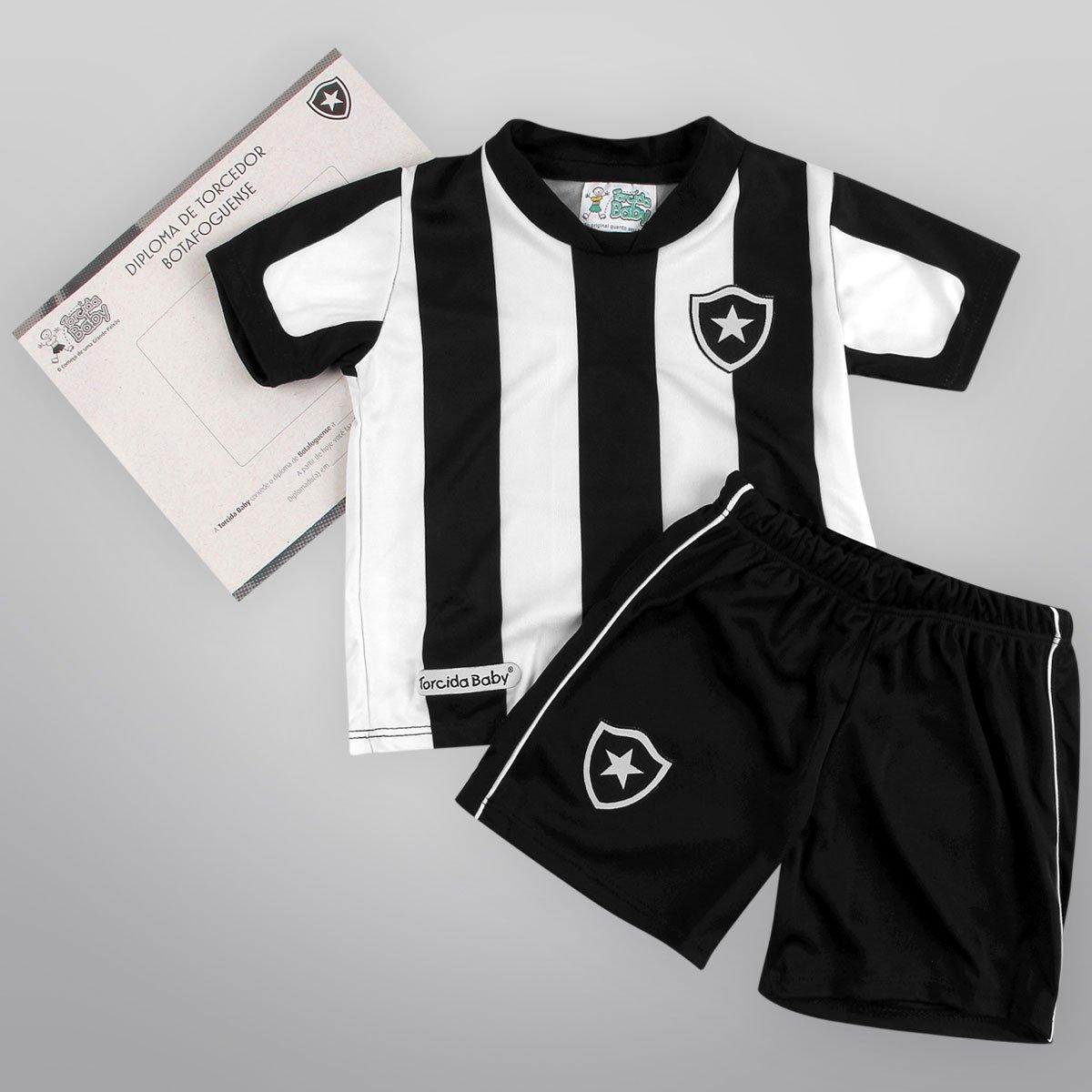 48941316cf4f1 Conjunto Botafogo Infantil Sublimado Com 2 Peças - Compre Agora ...