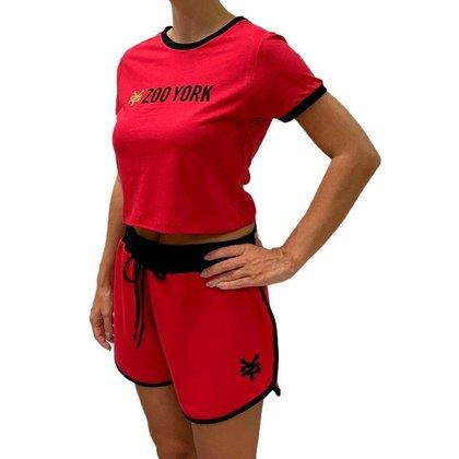 Conjunto Camiseta e Shorts Feminino Zoo York