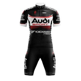 Conjunto Ciclismo Bermuda e Camisa Befast Audi