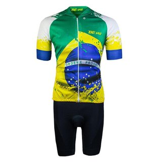 Conjunto Ciclismo Bermuda e Camisa Befast Brasil