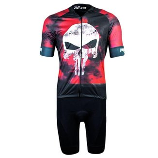 Conjunto Ciclismo Bermuda e Camisa Befast Skull