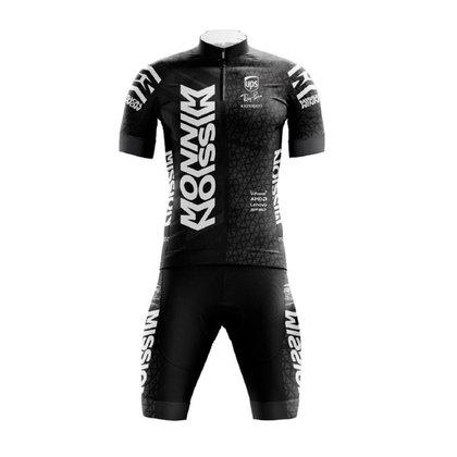 Conjunto Ciclismo Bermuda e Camisa Pro Tour Ferrari Black