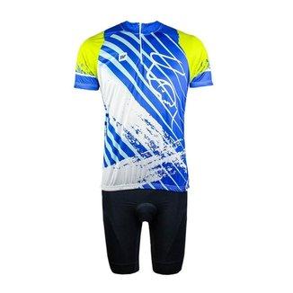 Conjunto Ciclismo Bike Bermuda e Camisa Befast Nossa Senhora