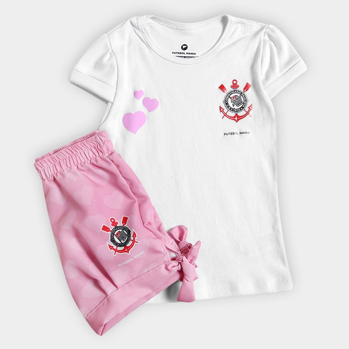 Conjunto Corinthians Infantil Torcida Baby Estilo II - Compre Agora ... af3386d8f5337