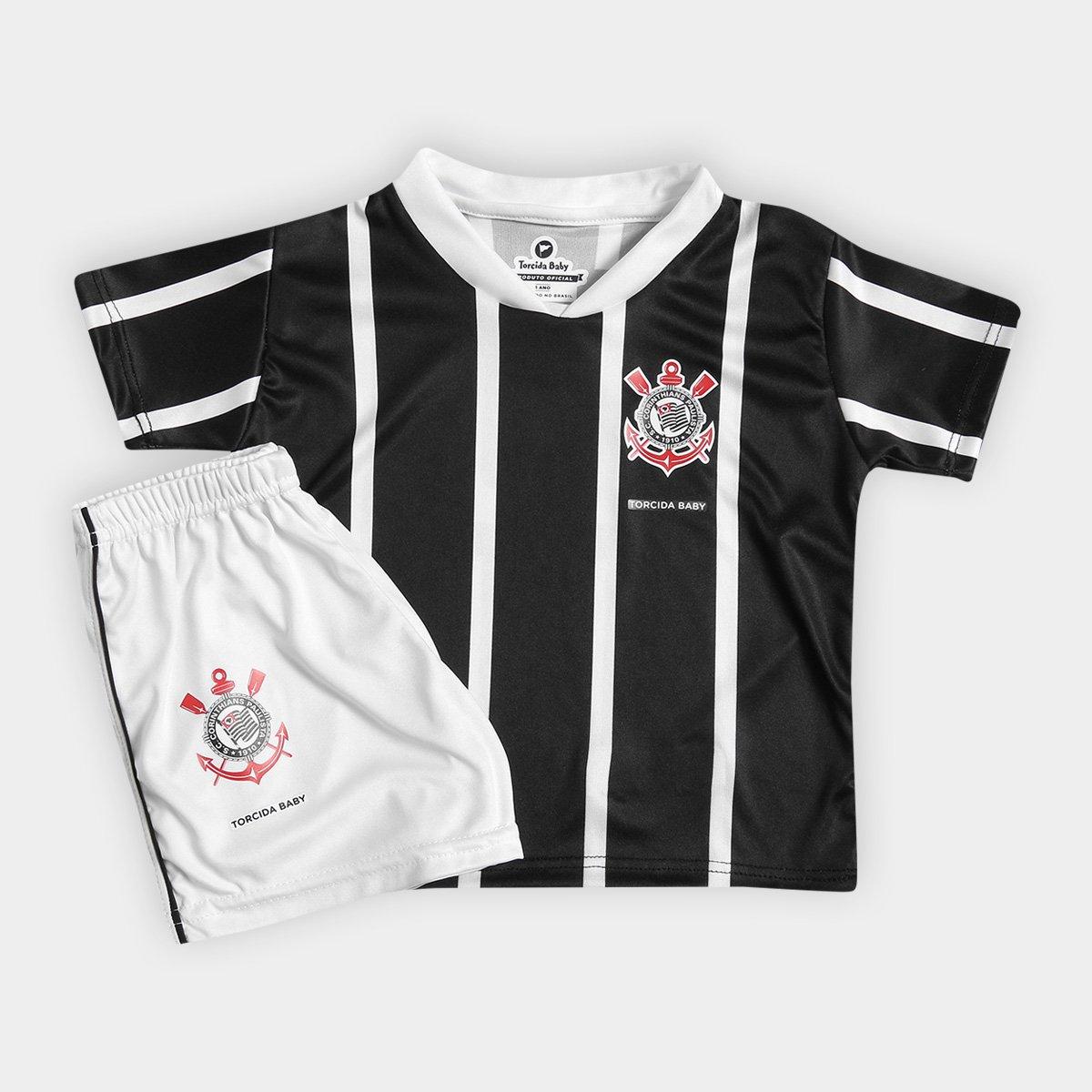 315bc9eac4 Conjunto Corinthians Infantil Torcida Baby - Compre Agora
