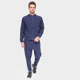 Conjunto De Agasalho Gajang Esporte Calça E Blusa Liso Masculino