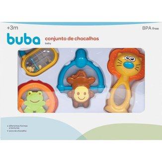 Conjunto De Chocalhos Baby Buba Baby