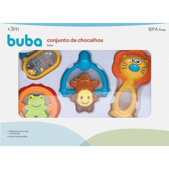 Conjunto De Chocalhos Baby Buba Baby - Colorido