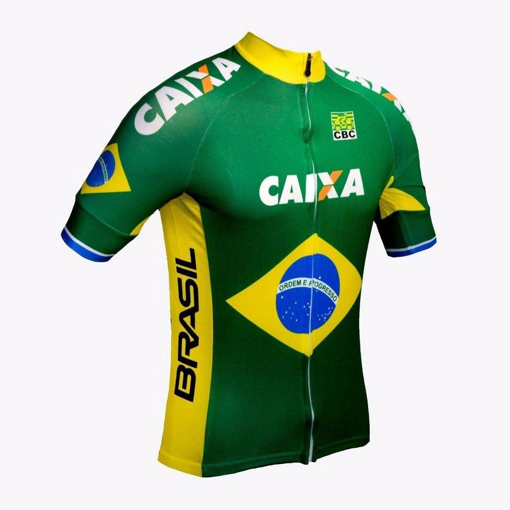 ccb61877b3 ... Conjunto de ciclismo Elite Gel Seleção Brasileira - ERT Cycle Sport ...