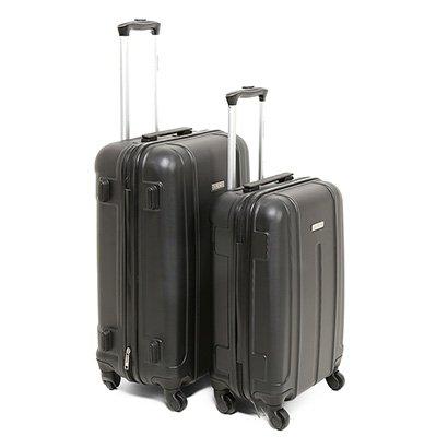 Conjunto de Malas de Viagem Yins Brasil ABS 2 unidades - Masculino