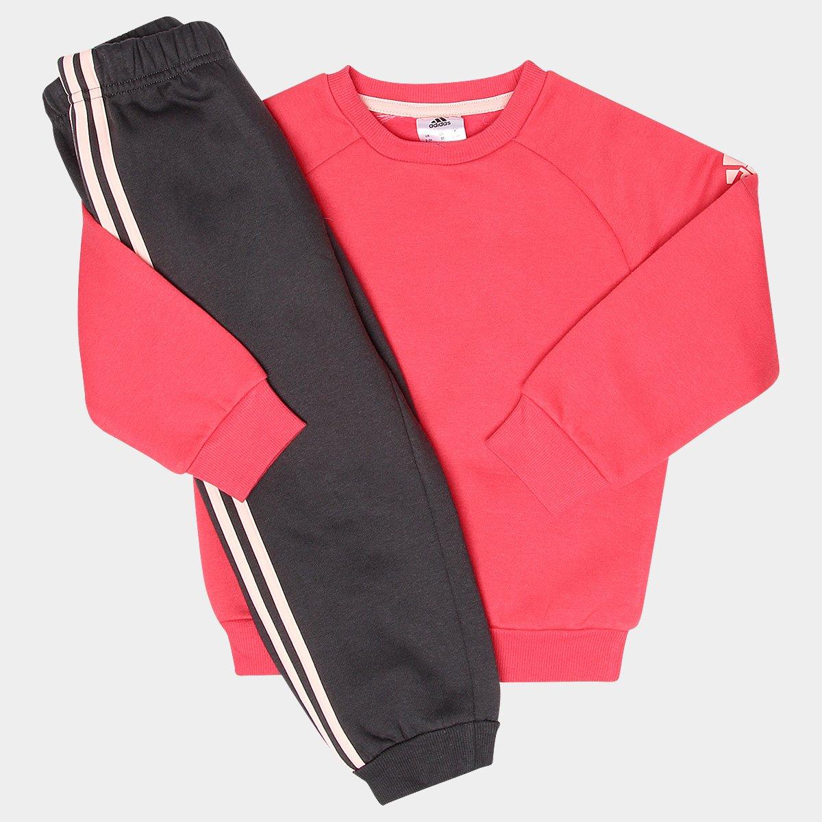 919fabd7b41a4 Conjunto de Moletom Infantil Adidas Baby - Compre Agora
