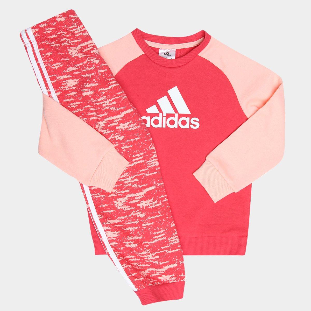 140d4903e1eb9 Conjunto de Moletom Infantil Adidas - Compre Agora