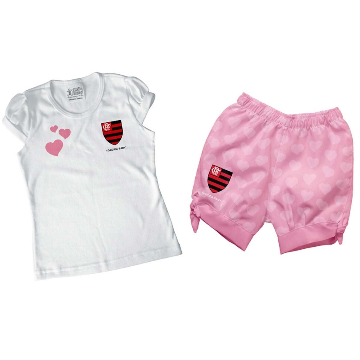 Conjunto Flamengo Estilo II Bebê Torcida Baby - Compre Agora  f7bd7c3770cc1