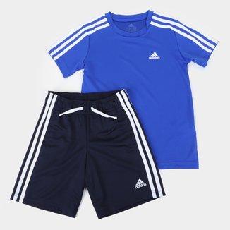 Conjunto Infantil Adidas D2M Masculino