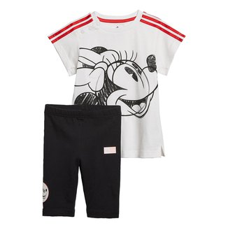 Conjunto Infantil Adidas Minnie Mouse Summer Set Feminino
