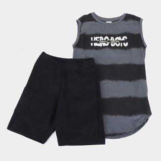 Conjunto Infantil Costão Hero Boys Masculino