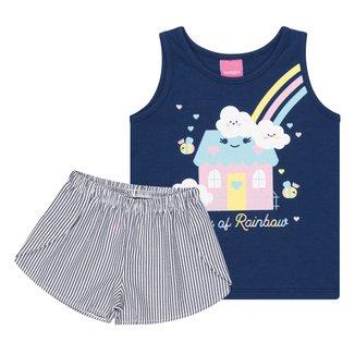 Conjunto Infantil Kamylus Poly Candy Feminino