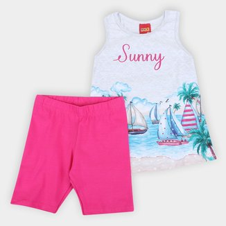Conjunto Infantil Kyly Sunny Feminino