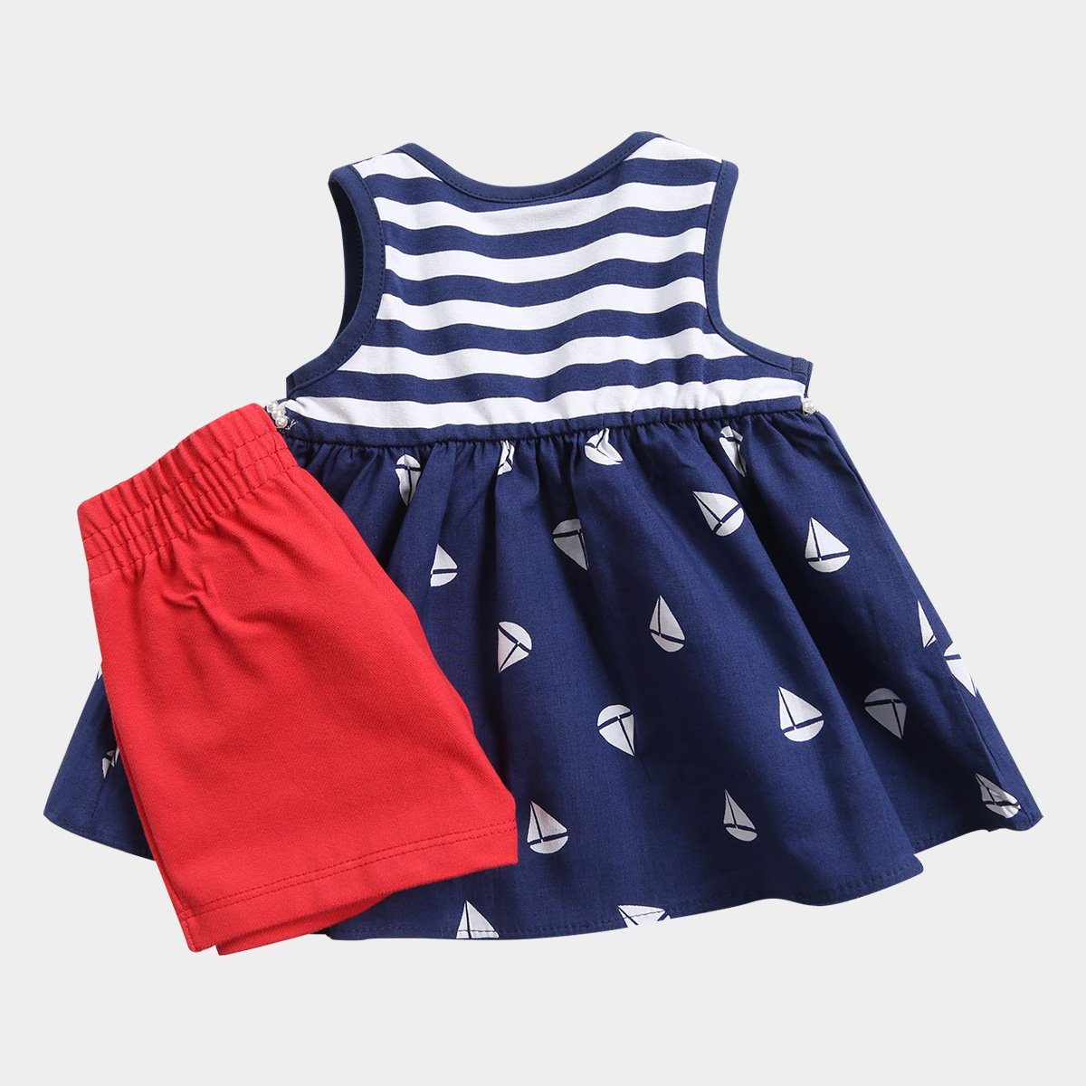 Listrada Navy Feminino Barquinhos Milon Azul Conjunto Infantil Conjunto Infantil UcqXP