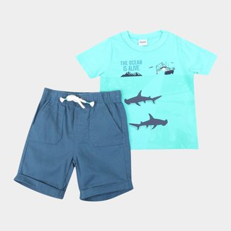 Conjunto Infantil Rovitex Ocean Masculino