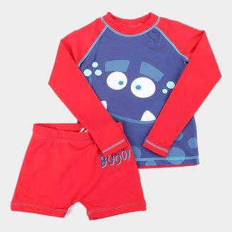 Conjunto Infantil Tip Top Booo! Camiseta + Sunga Masculino