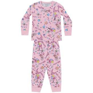 Conjunto Pijama - Blusa e Calça - Fakini - Lukas Kids Moda Infantil