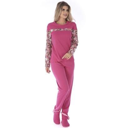 Conjunto Pijama Victory Inverno Fofucho Feminino