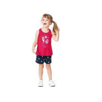 Conjunto Regata e Shorts Awesome Malwee Kids 1000069693