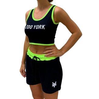 Conjunto Regata e Shorts Feminino Zoo York
