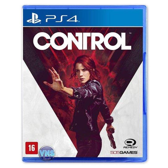 Control - PS4 - Incolor