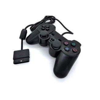 Controle compativel play 2 Joystick Dualshock Ps2 Com Fio M.A