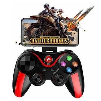 Controle Joystick Gamepad Bluethooth Android Celular LH-9089