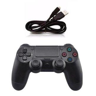 Controle Joystick S Fio Compatível Ps4 Playstation 4 - DOUBLE