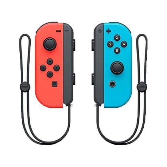 Controle para Nintendo Switch sem Fio Joy-Con - Vermelho+Azul