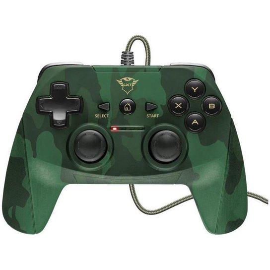 Controle para PC e PS3 com Fio Yula GXT 540C - Verde