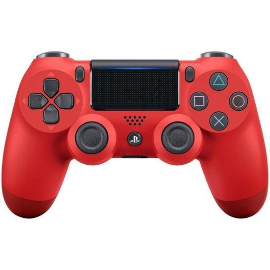 Controle para PS4 Sem Fio Dualshock 4 Sony - Vermelho