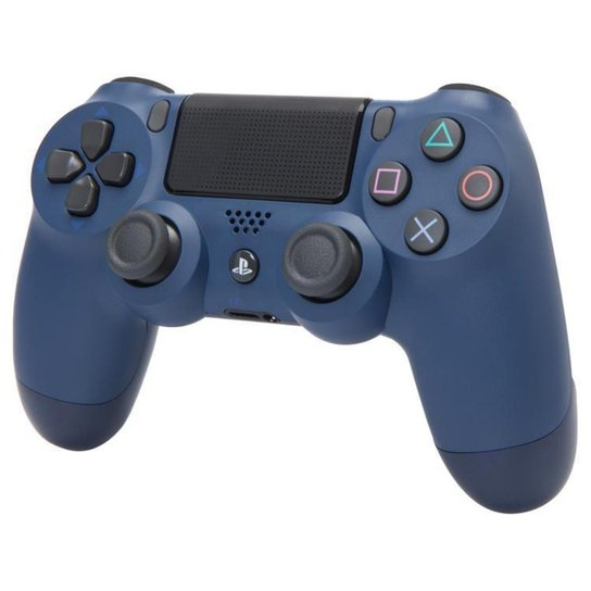 Controle PS4 sem Fio Dualshock 4 - Sony - Marinho