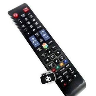 Controle Remoto Para Tv Samsung Smart com Função Futebol E Smart Hub - LE-7032