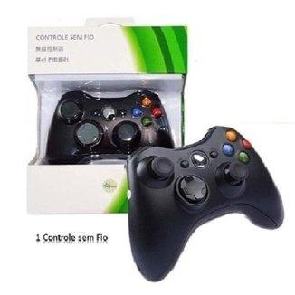 Controle Sem Fio Xbox 360 JoyStick Wireless