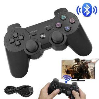 Controle Wireless Bluetooth Playstation 3 Dualshock 3