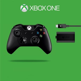Controle Xbox One - W2v-00006 I - Wireless + Kit Play And Charge