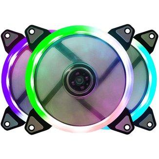 Cooler 120mm Bluecase Ring - LED RGB - BFR-07RGB