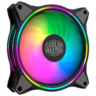 Cooler 120mm Cooler Master Masterfan MF120 HALO - LED RGB - MFL-B2DN-18NPA-R1