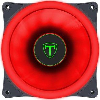 Cooler 120mm T-Dagger - LED Vermelho - T-TGF200-R