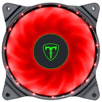 Cooler 120mm T-Dagger - LED Vermelho - T-TGF300-R