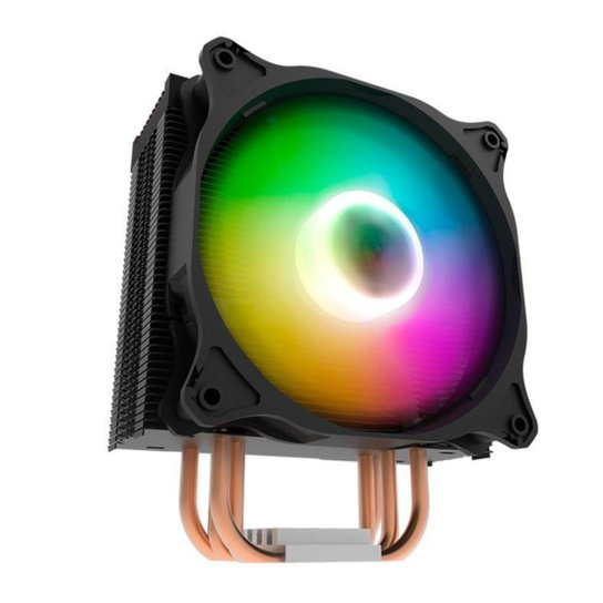Cooler Para Processador Aigo DarkFlash DarkAir ARGB 120MM - Preto