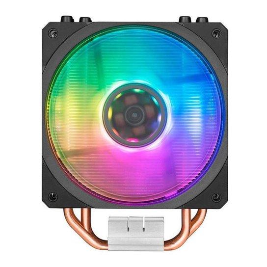 Cooler Para Processador Cooler Master Hyper 212 Spectrum RGB, RR-212A-20PD-R1 - Preto