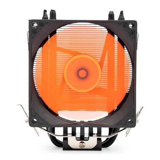 Cooler Para Processador Mancer F150 Led Laranja, MCR-F150-01 - Laranja